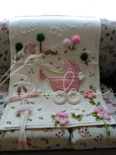 Polar bebek battaniyesi yeni tasarım handmade Baharca <3 <3