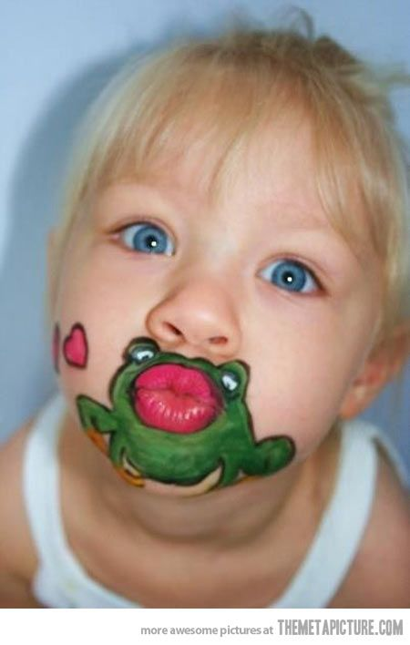 Kiss the frog…