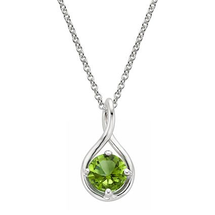 A beautiful gemstone pendant with a special meaning is perfect for Mother's Day.