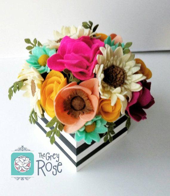 how to make paper flower arrangements