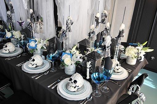Skull Table Decor
