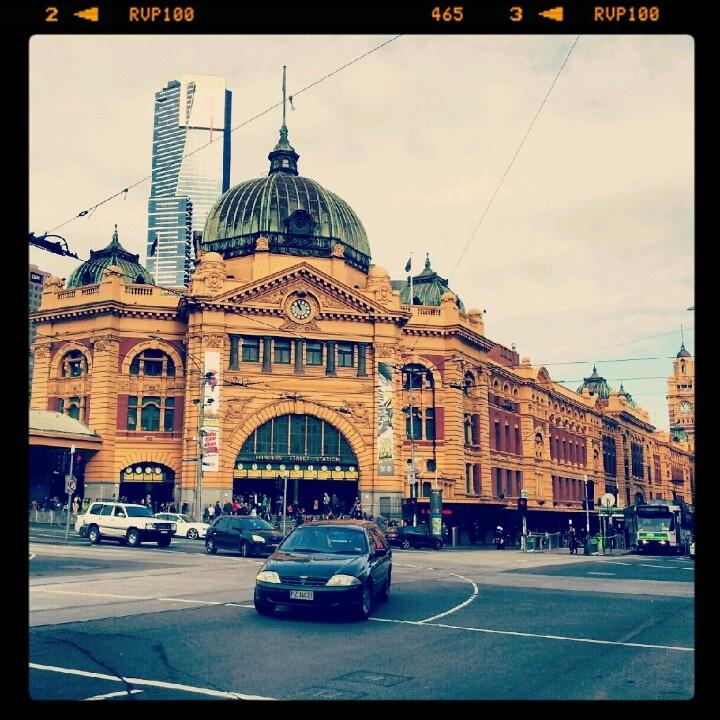 Flinders St. Station