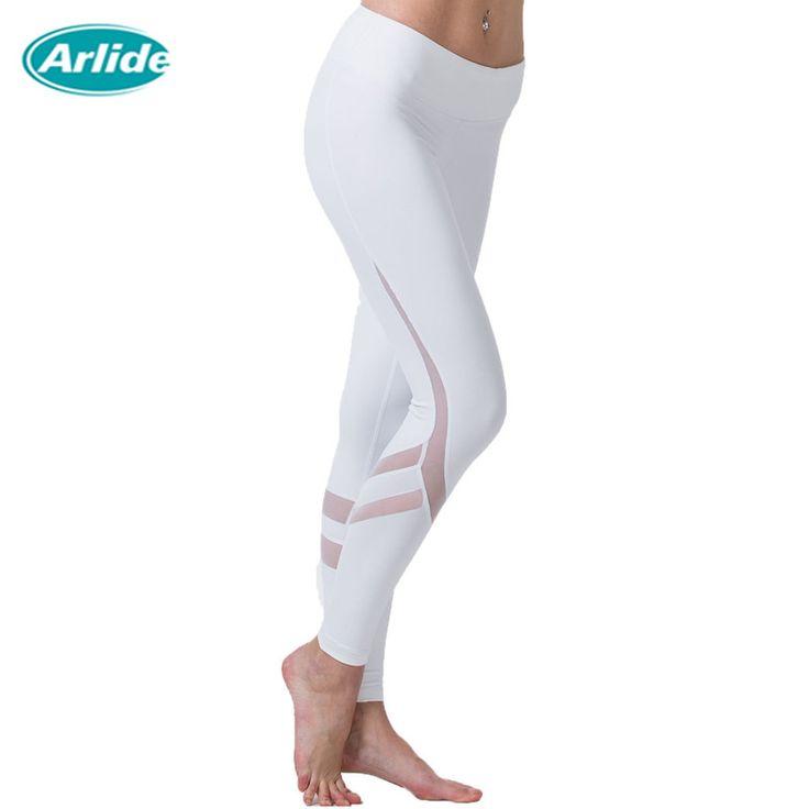 Yoga Sports Leggings For Woman Sports Tight Mesh Yoga Leggings Comprehension Yoga Pants Women Running Tights Women