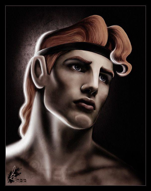 Did you say Hercules? Honey, I think you mean HUNKULES!    Artwork C to DavidKawena