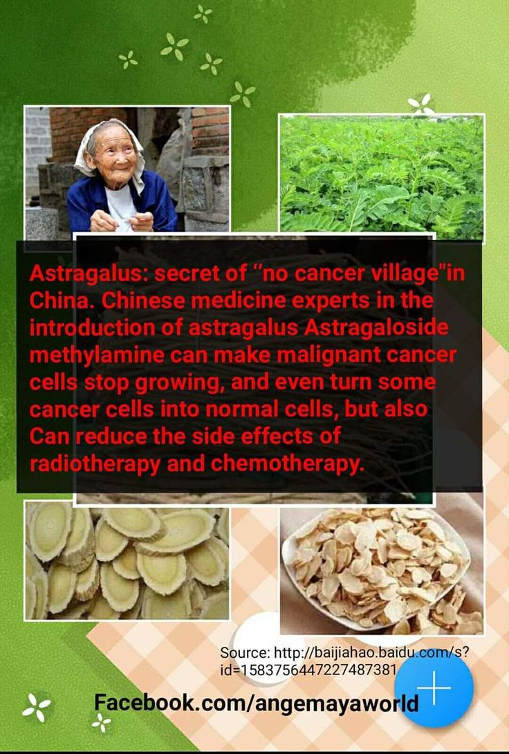 """#Astragalus: secret of ''no cancer village""""in China. Chinese medicine experts in the introduction of astragalus Astragaloside methylamine can make malignant #cancer cells stop growing, and even turn some cancer cells into normal cells, but also Can reduce the side effects of radiotherapy and chemotherapy.  http://lnk.al/5G0z"""