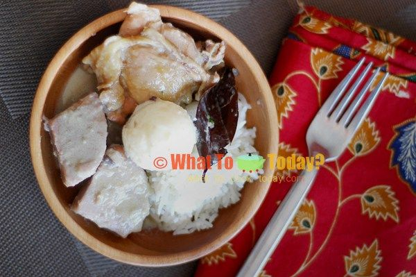 GUDEG YOGYA/ TRADITIONAL YOGYANESE CHICKEN