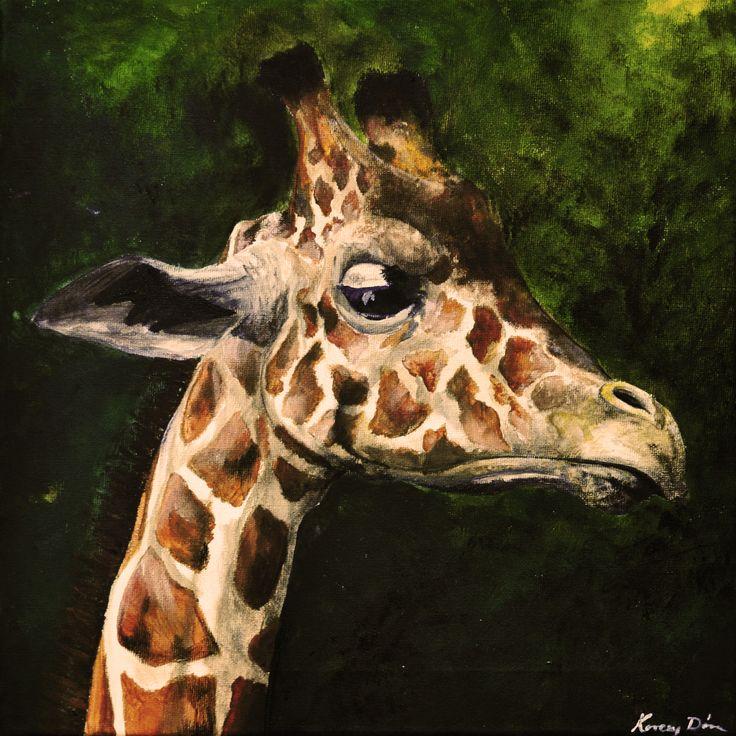 feeling, like a sir! giraffe