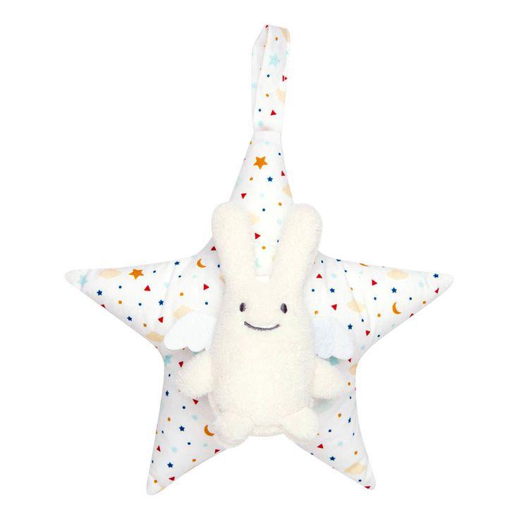 Trousselier Spieluhr Hase Sterne  Bunt
