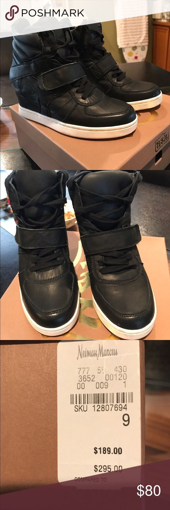ASH brand shoes. Worn 3 times,very good condition,bought from Neiman Marcus outlet,original box and price on it. Ash Shoes Ankle Boots & Booties