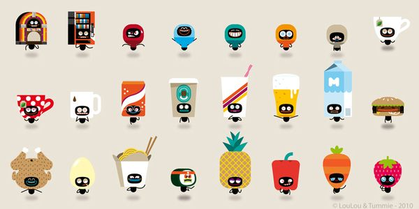 We're a happy family! by Loulou and Tummie , via Behance