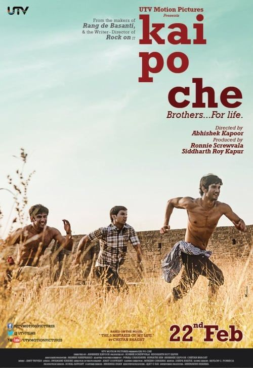 Kai Po Che! Full Movie Streaming Online in HD-720p Video Quality