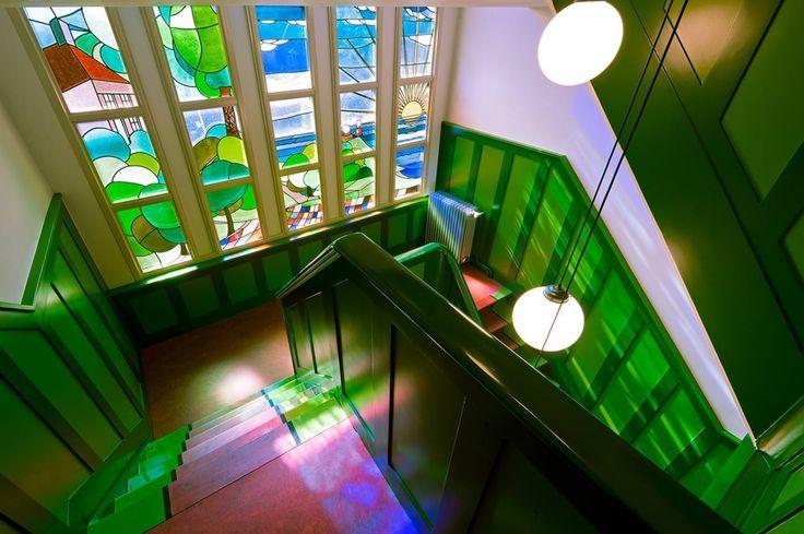 Geref. Kerk te Andijk; 1930. Restauratie pastorie 2012. Architect Egbert Reitsma (1892-1976) - Teo Krijgsman Fotografie