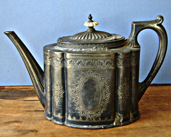 Walker and Hall Edwardian 1903 engraved pewter by nancyplage, £30.00