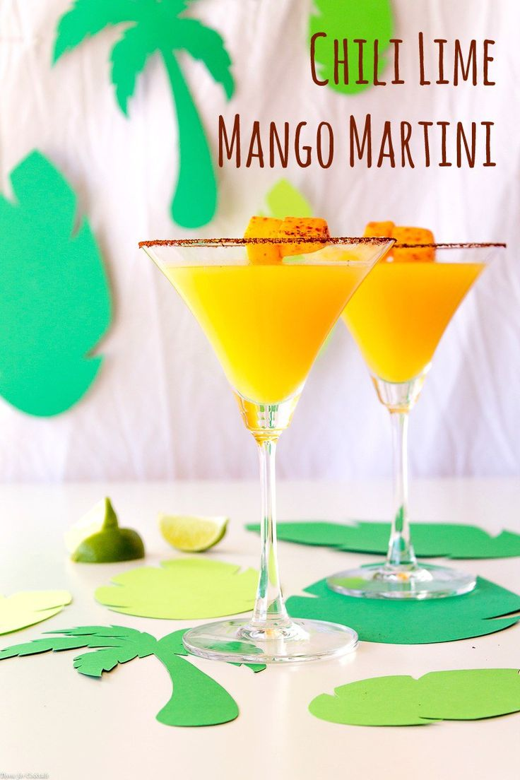 msg 4 21+  This slightly spicy, kind of sweet and a whole-bunch-of-tart Chili Lime Mango Martini will have you wishing for a honest-to-goodness toes-in-the-sand break from reality  Rye vodka mixed with mango puree, pineapple juice and lime juice served in a chili lime rimmed glass.  #CreateYourCocktail ad @SobieskiVodka @DoleSunshine