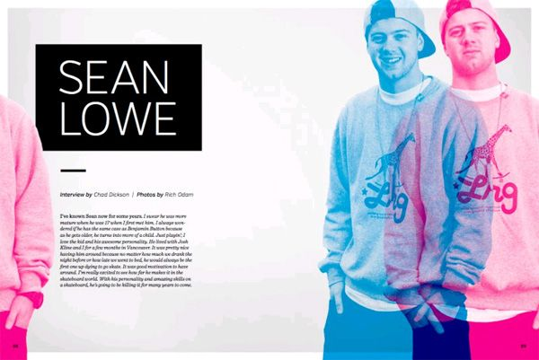 #SBC Skateboard Magazine Interview with #LRG Rider Sean Lowe