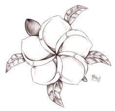 plumeria tattoo - Google Search