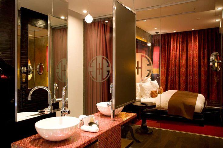 Particolare della suite del Buddha Bar Hotel – Praga