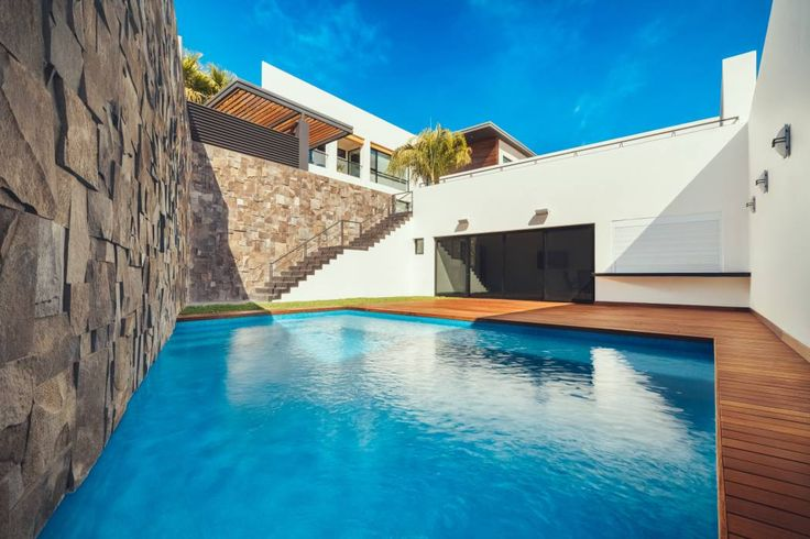 Residencia R53: Albercas de estilo moderno por Imativa Arquitectos