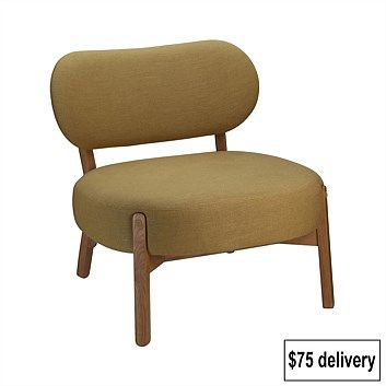 Henry & Hugo Diego Lounge Chair Curry