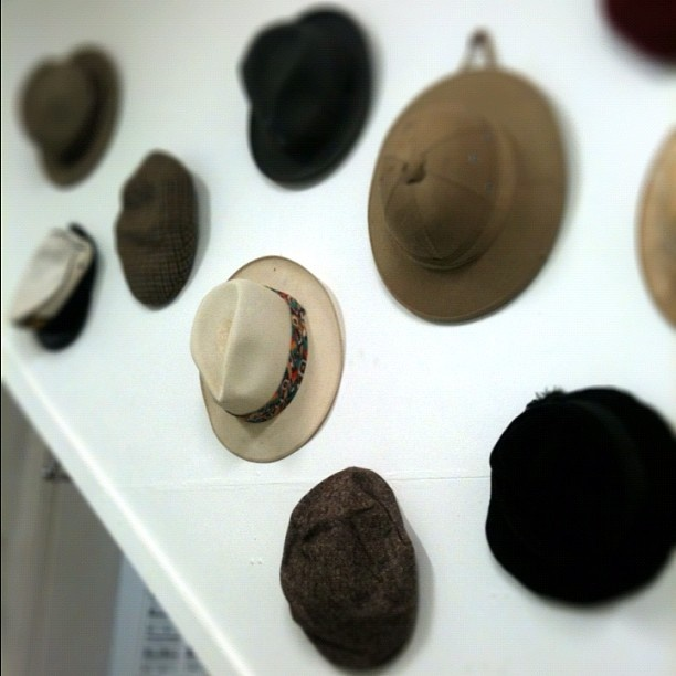 .@mumof2boys_wholikestocreate | A wall of hats in a cute new cafe in town | Webstagram - the best Instagram viewer