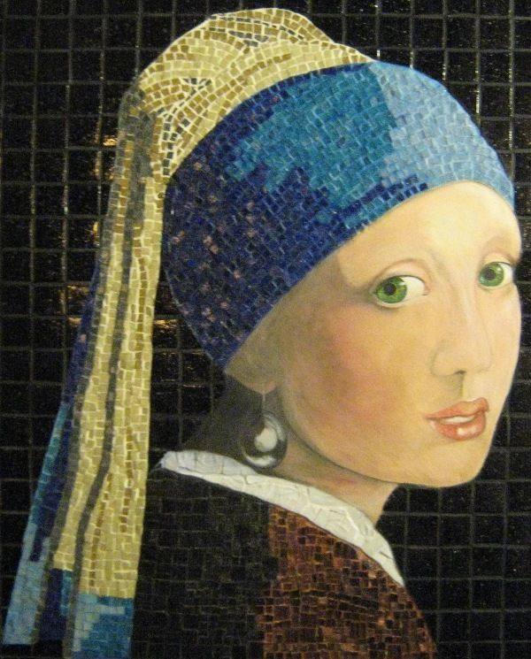 Inspired by Vermeer, Girl with a Pearl Earring