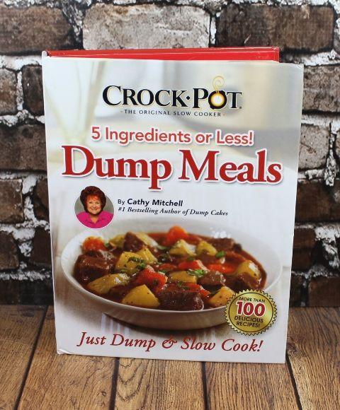 Giveaway! CrockPot Dump Meals Cookbook and Gift Card ~ Planet Weidknecht