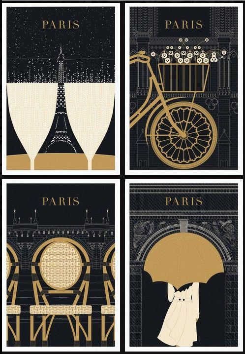 Paris Poster series