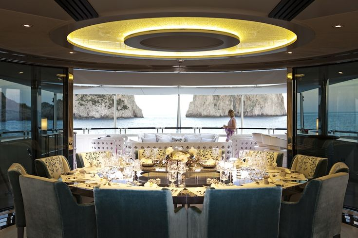 interiors of luxury yachts | interior of the heesen quinta, Innenarchitektur ideen