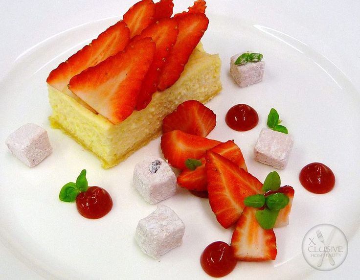 Strawberry Shortcake with Strawberry Jelly #catering #events #leicestershirefood #xclusive