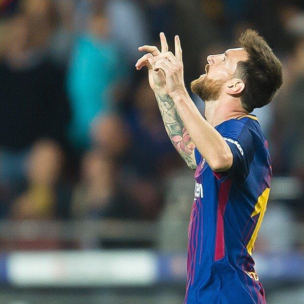 """171.1k Likes, 934 Comments - FC Barcelona (@fcbarcelona) on Instagram: """"How many times has #Messi scored four goals or more in a game for Barça? Quantes vegades ha…"""""""