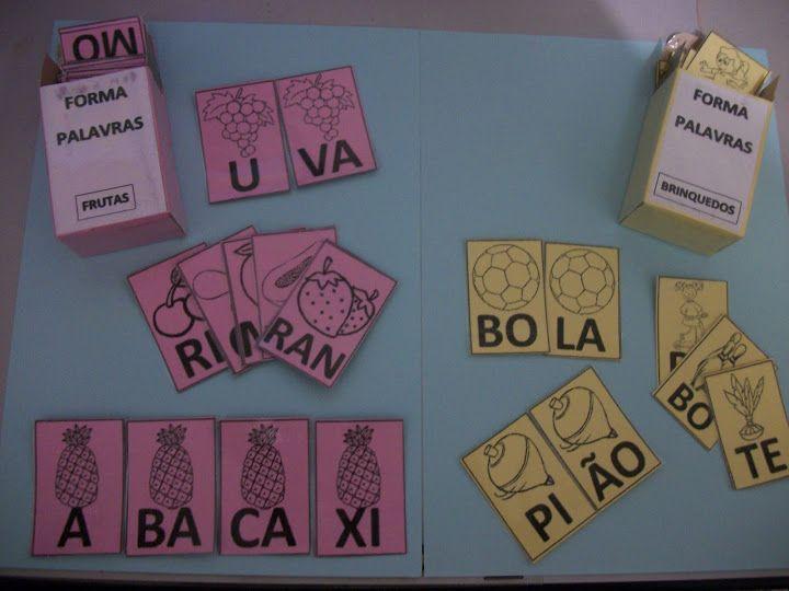 Fabuloso 178 best Jogos de Alfabetização images on Pinterest | Literacy  ZG45