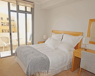 Self catering accommodation, Muizenberg, Cape Town   Main Bedroom  http://www.capepointroute.co.za/liveit-muizenberg.php