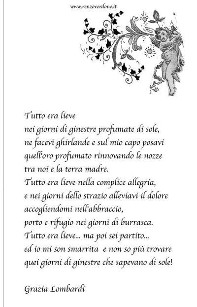 poesia d'amore
