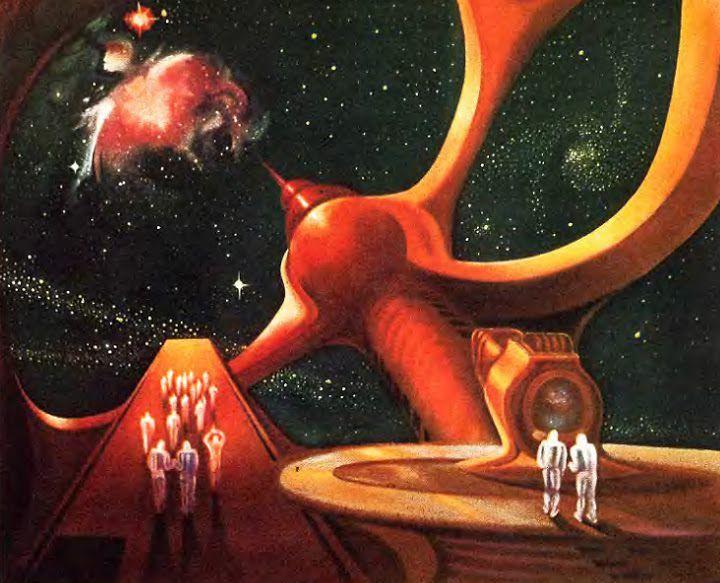 #космос #science fiction art