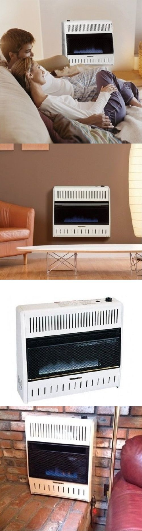 Space Heaters 20613: Gas Heaters Wall Mounted Blue Flame Vent Free Blower Base Natural Or Propane 30K -> BUY IT NOW ONLY: $303.88 on eBay!