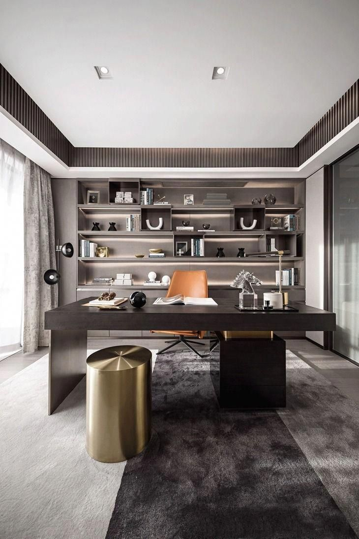Paint Colors Plants It All Matters When It Comes To Your Office You Need A Space To Think And Modern Office Decor Home Office Design Office Interior Design
