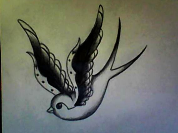 1000 ideas about traditional swallow tattoo on pinterest swallow tattoo sailor jerry swallow. Black Bedroom Furniture Sets. Home Design Ideas
