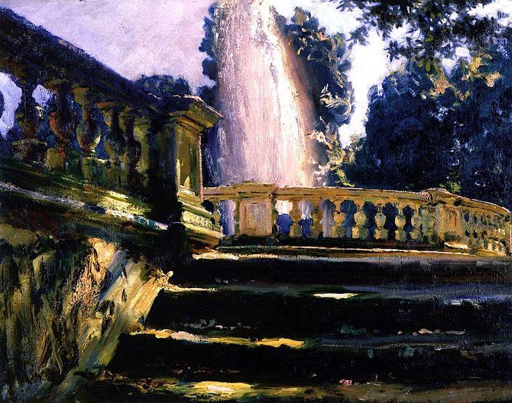 Villa Torlonia Fountain John Singer Sargent - 1907