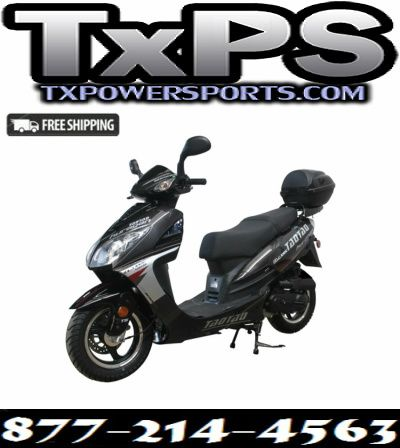 Taotao Evo 50CC Bigger Size Gas Street Legal Scooter Free Shipping - Fully Assembled and Tested Free Shipping Sale Price: $998.00