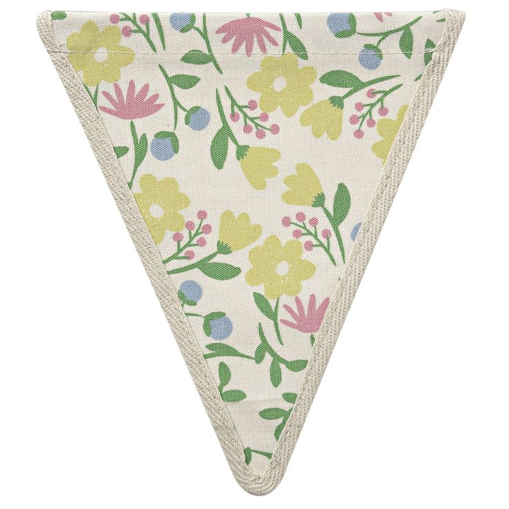 Meri Meri Alphabet Bunting - Floral Pattern -  Bunting - Meri Meri UK - Putti Fine Furnishings Toronto Canada - 1