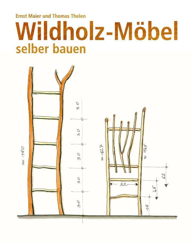 Wildholz m bel selber bauen von ernst maier und thomas for Baumstamm regal selber bauen