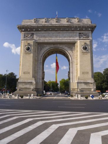Triumphal Arch - Bucharest, Romania