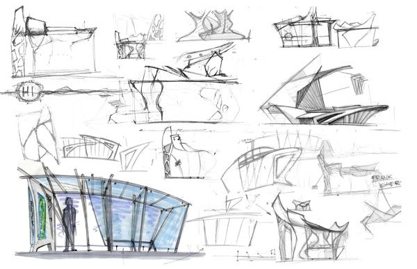 Bus Shelter Concept on Behance                                                                                                                                                     More