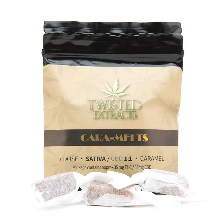 PRE-ORDER! Twisted Extracts THC/CBD Caramels value pack. 70mg THC per package. 35mg THC/35mg CBD. This value pack comes with 30 assorted caramels. #twistedextracts #cbdcaramels #cbdedibles #edibles #onlinedispensary #wholesale #valuepack #thccaramels #thcedibles
