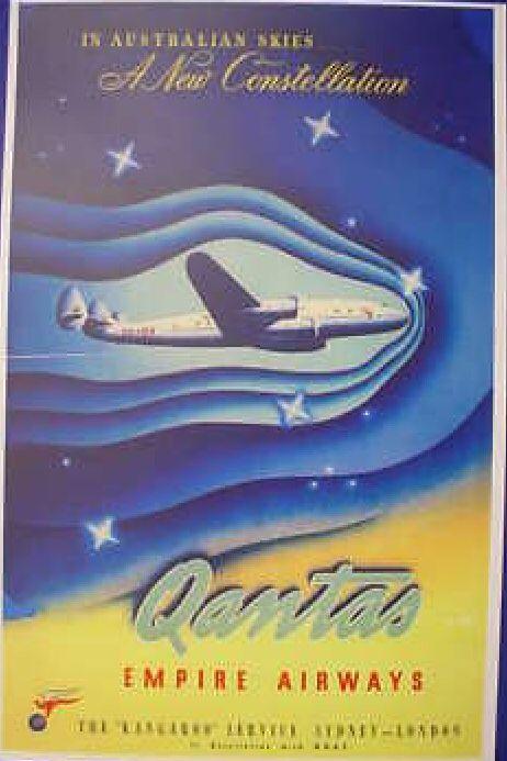 Qantas Airlines 1954