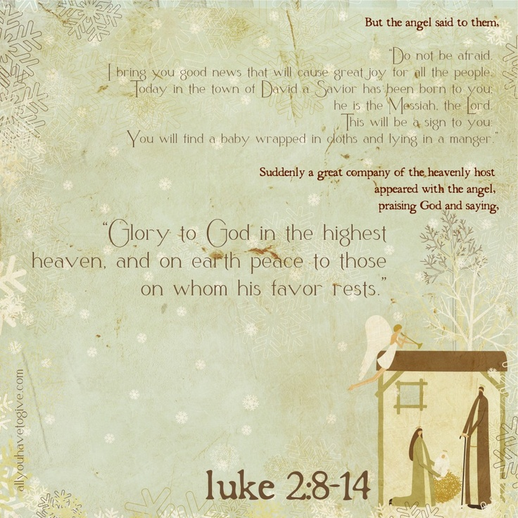 Luke Kaden Read This At Christmas Eve Service :) Merry Christmas!