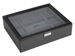 Too many watches? And don't know to where to store them, so this is the right time to buy this amazing Watch Box which can be personalized by your own choice and can store upto 15 watches.