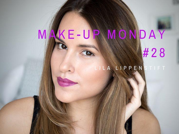 Make-up Monday #28 – Lila Lippenstift | Jeans & Ginger