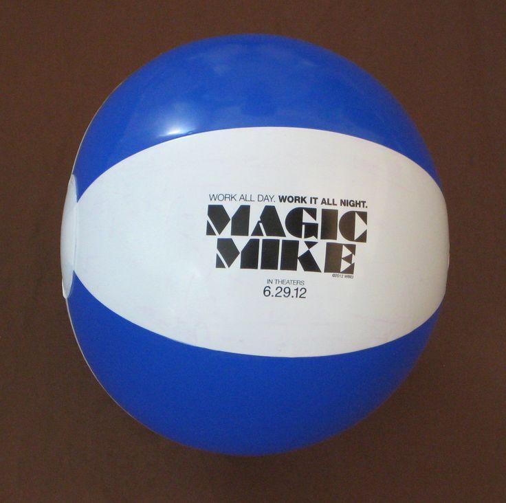 Magic Mike Movie Premier Beach Ball