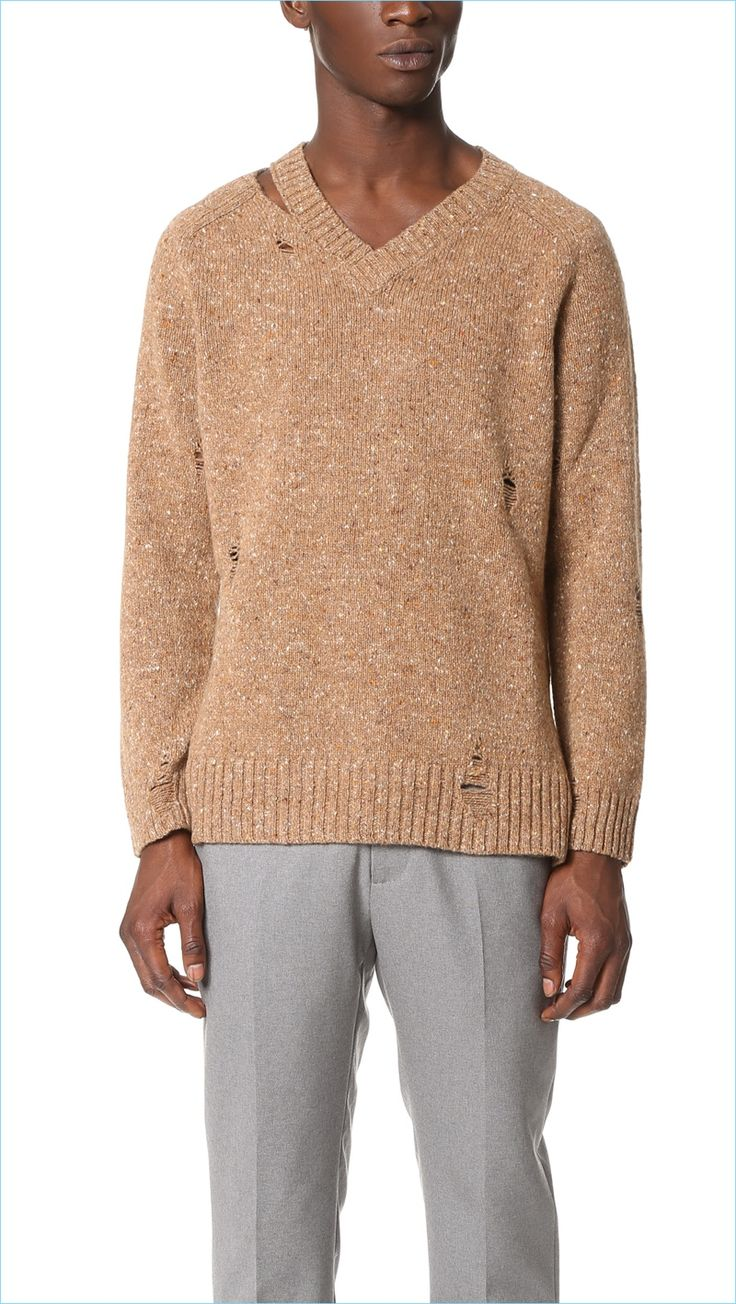 296 best Men's Sweaters images on Pinterest   Men's sweaters ...